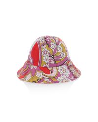 Etro - Red Paisley-print Bucket Hat - Lyst