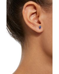 Yi Collection - Blue 18k Gold And Sapphire Earrings - Lyst
