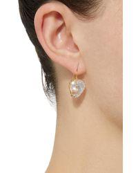 Renee Lewis - White 18k Gold Kunzite Earrings - Lyst