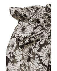 Lisa Marie Fernandez - Multicolor Floral Cotton-voile Shorts - Lyst