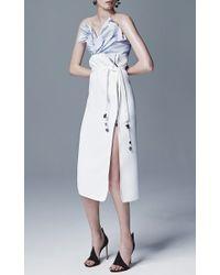 Maticevski - White Inventor Straight Skirt - Lyst