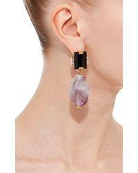 Marni - Purple Amethyst Drop Earrings - Lyst