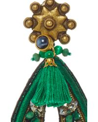Ranjana Khan - Forest Green Amethyst Earrings - Lyst