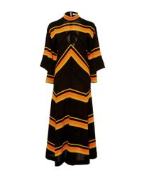 Edun | Multicolor Jersey Stripe Relaxed Seamed Dress | Lyst