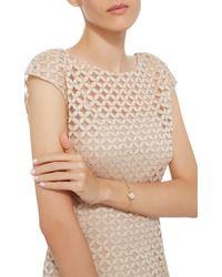 Monica Rich Kosann | White 18k Yellow Gold Locket Bracelet | Lyst