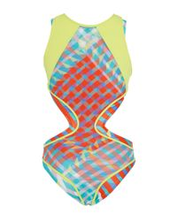 Salinas | Multicolor Gingham Convertible One Piece | Lyst