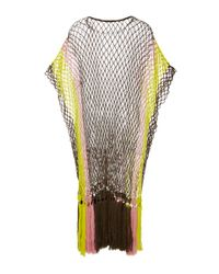 A Peace Treaty - Multicolor Kassena Crocheted Fringe Caftan - Lyst