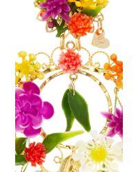Mercedes Salazar - Multicolor Fiesta Flower Earrings - Lyst