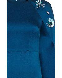 Safiyaa - Blue Celine Long Dress - Lyst