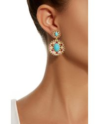 Paul Morelli - Multicolor Sprial Mesh Double Dangle - Lyst