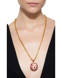 Silvia Furmanovich - Marquetry Chinese Red Ball Charm With Gemfields Rubies - Lyst