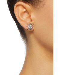 Colette - Metallic Ladybug 18k White Gold Diamond Earrings - Lyst
