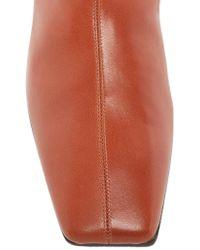 Ellery - Brown Metallic Heel Chelsea Boot - Lyst