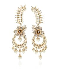 Marchesa - Metallic Drama Crawler Earrings - Lyst