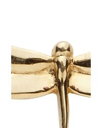 Loquet London - Metallic Dragonfly Charm - Lyst