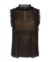 Alexis | Black Mills Lace Top | Lyst