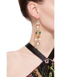 Ben-Amun - Multicolor Byzantine Pearl Multi-stone Earrings - Lyst