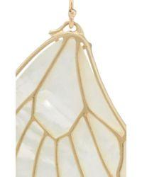 Annette Ferdinandsen - White 18k Gold Papillion Earring - Lyst