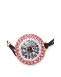 Pippo Perez - Pink Large Evil Eye Bracelet - Lyst