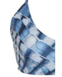 Mara Hoffman - Blue Shell Print Bikini Top - Lyst