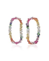 Ana Khouri | Multicolor Mia Open Earrings | Lyst