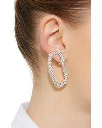 Ana Khouri - Metallic 18k White Gold Diamond Mia Earrings - Lyst
