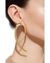 Jennifer Fisher - Metallic Xl Root Earrings In Gold - Lyst