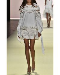 Jonathan Simkhai | White Mirror Cotton Slit Shorts | Lyst
