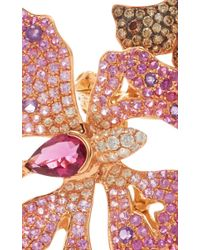 Wendy Yue - Red Amethyst And Rubellite Butterfly Ring - Lyst