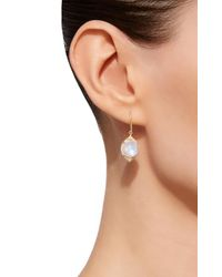 Jamie Wolf - White 18k Gold, Rainbow Moonstone And Diamond Earrings - Lyst