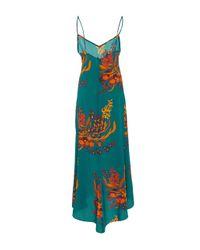 Jaline - Blue Anais Long Slip Dress - Lyst