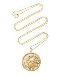 Jennifer Meyer - Metallic Good Luck Necklace - Lyst