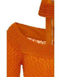 Kitx - Orange Future Choker Knit Top - Lyst