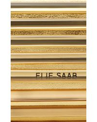 Elie Saab - Metallic Gold Fishing For Compliments Pearl Drop Earring - Lyst