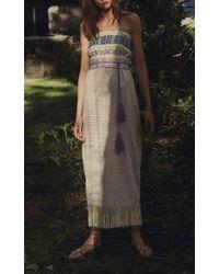 Jaline - Multicolor Irina Strapless Dress - Lyst
