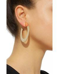 Jack Vartanian - Metallic Riviera Side Hoop Earrings - Lyst