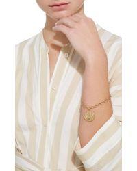 Marlo Laz - Yellow Talisman Coin Bracelet - Lyst