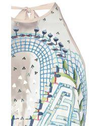 Temperley London - Blue Maze Dress - Lyst