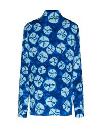 Stella Jean - Blue Long Sleeve Blouse - Lyst