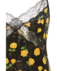 Michael Kors - Multicolor Lace Embroidered Camisole - Lyst