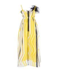 ROKSANDA - Yellow Esther Dress - Lyst