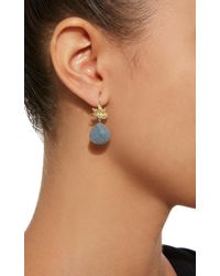 Jamie Wolf - Gray 18k Gold, Labradorite And Diamond Earrings - Lyst
