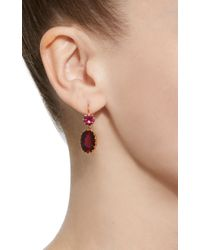 Renee Lewis - 18k Gold Pink Tourmaline Earrings - Lyst