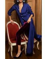 Rebecca de Ravenel - Blue M'o Exclusive The Ming Silk Shirt - Lyst