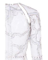 "Thai Nguyen Atelier - White ""ice Ice Baby"" Cuff - Lyst"