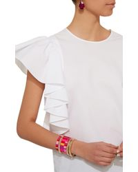 Roxanne Assoulin - Set-of-three Extremely Pink Bracelets - Lyst