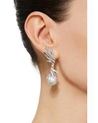 Tasaki - High Jewelry White Gold Pearl Earrings - Lyst
