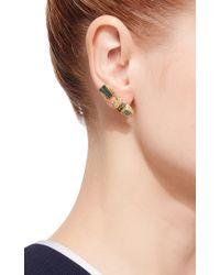 Daniela Villegas - Green Scarab Ear Climber Earring - Lyst