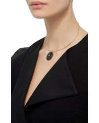 CVC Stones | Black 18k Yellow Gold Line Choker Necklace | Lyst