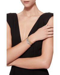 Sidney Garber - Metallic Set Of 2 Gold Buckle Bracelet - Lyst
